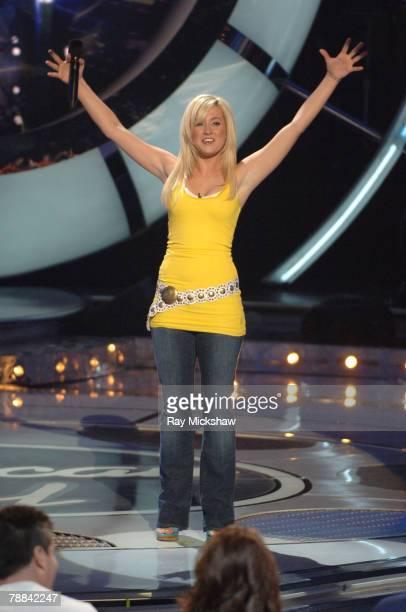 'American Idol' Season 5 Top 11 Finalist Kellie Pickler of Albemarle North Carolina *EXCLUSIVE*