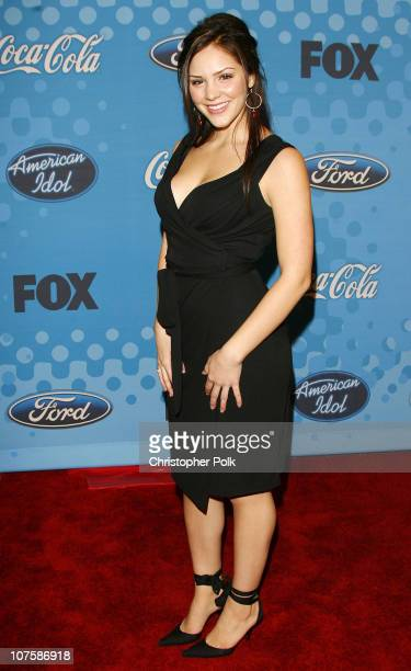 'American Idol' Season 5 Top 12 Finalist Katharine McPhee from Sherman Oaks California