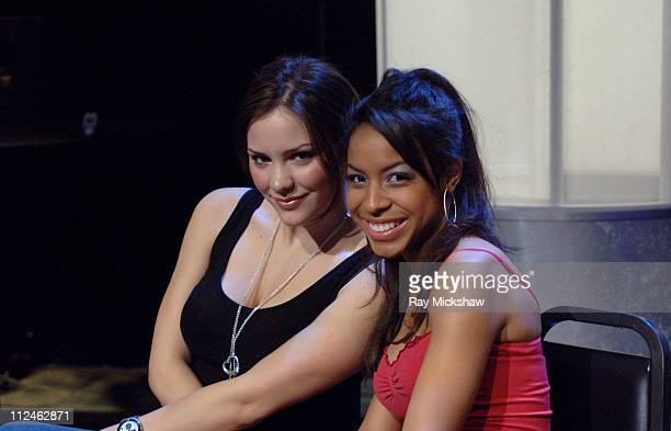 'American Idol' Season 5 Top 16 Finalists Katharine McPhee from Sherman Oaks California and Lisa Tucker from Anaheim California *EXCLUSIVE*
