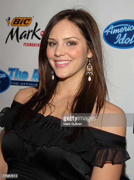 'American Idol' Season 5 Top 24 Finalist Katharine McPhee from Sherman Oaks California *EXCLUSIVE*