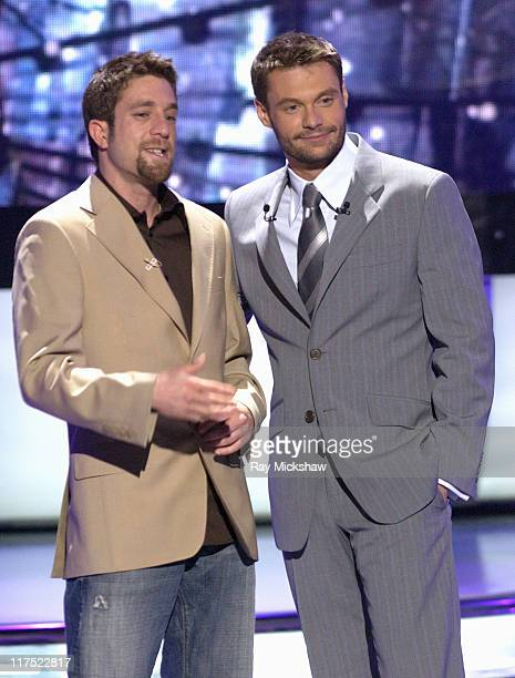 'American Idol' Season 5 Top 3 Finalist Elliott Yamin from Richmond Virginia and Ryan Seacrest host *EXCLUSIVE*