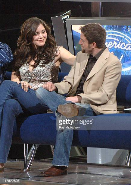 'American Idol' Season 5 Top 3 Finalists Katharine McPhee from Sherman Oaks California and Elliott Yamin from Richmond Virginia *EXCLUSIVE*