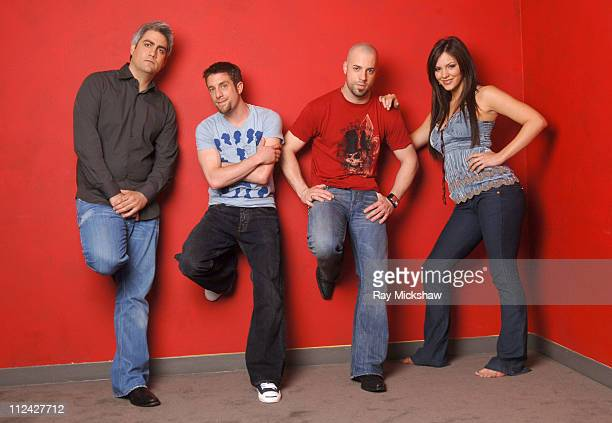 'American Idol' Season 5 Top 4 Finalists Taylor Hicks from Birmingham Alabama Elliott Yamin from Richmond Virginia Chris Daughtry from McLeansville...