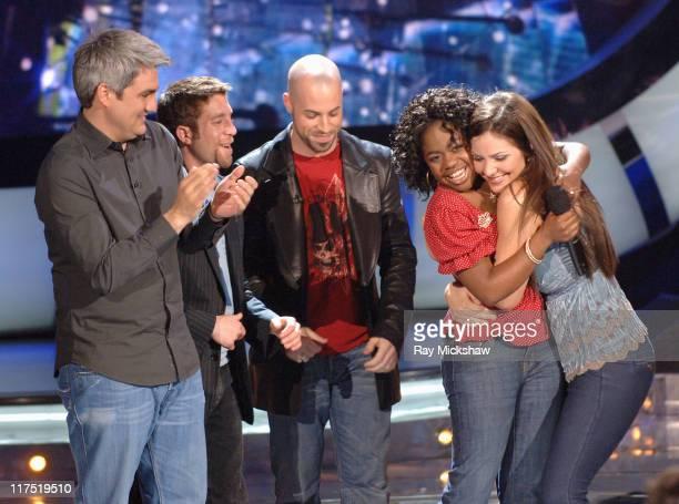 'American Idol' Season 5 Top 5 Finalists Elliott Yamin from Richmond Virginia Taylor Hicks from Birmingham Alabama Chris Daughtry from McLeansville...