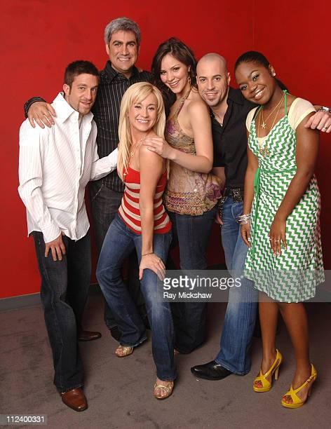 'American Idol' Season 5 Top 6 Finalists Elliott Yamin from Richmond Virginia Taylor Hicks from Birmingham Alabama Kellie Pickler of Albemarle North...