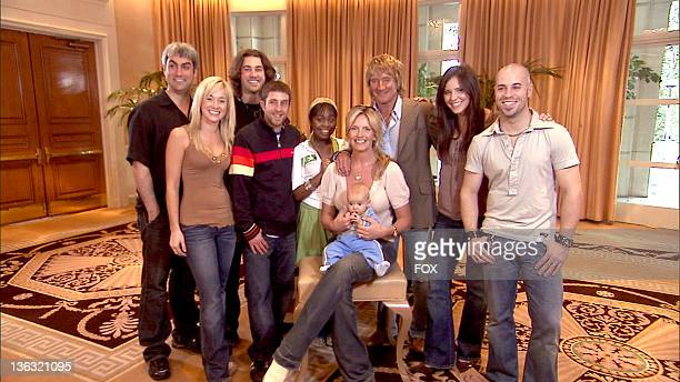 American Idol Season 5 Top 7 Finalists Taylor Hicks from Birmingham Alabama Kellie Pickler of Albemarle North Carolina Ace Young from Denver Colorado...
