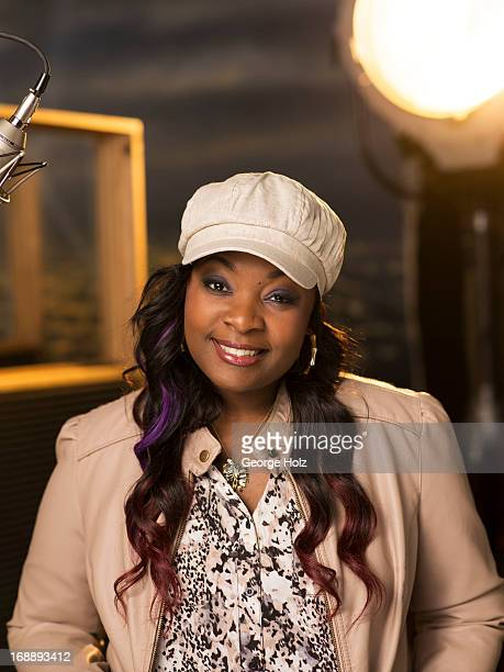 American Idol singer Candice Glover is photographed for Self Assignment on March 29 2013 in Los Angeles California