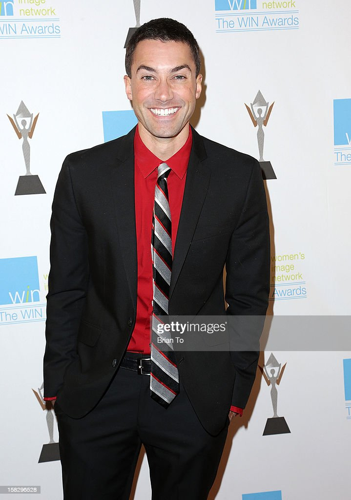 American Idol singer/songwriter Ace Young attends The 14th a annual Women's Image Network (WIN) awards at Paramount Theater on the Paramount Studios lot on December 12, 2012 in Hollywood, California.