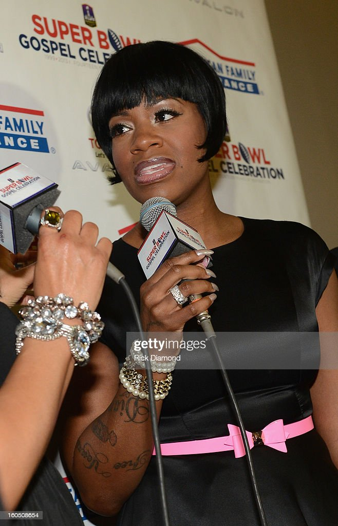 American Idol winner and Grammy-nominated artist Fantasia attends the Super Bowl Gospel 2013 Show at UNO Lakefront Arena on February 1, 2013 in New Orleans, Louisiana.