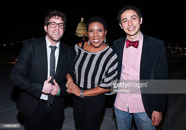 American Idols Elliott Yamin Melinda Doolittle and Jason Castro attend the Malaria No More Reception With American Idols To Celebrate Recent Progress...