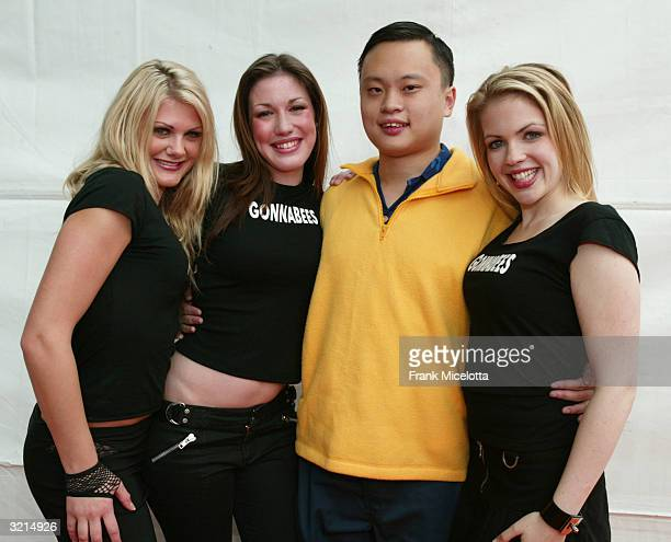 American Idol's William Hung and guests attend Nickelodeon's 17th Annual Kids' Choice Awards at Pauley Pavilion on the campus of UCLA April 3 2004 in...
