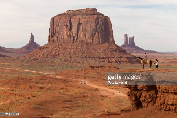 American indian ute Monument Valley