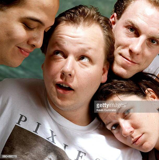 American indie band The Pixies circa 1989 Clockwise from left guitarist Joey Santiago singer Black Francis drummer David Lovering and bassist Kim Deal
