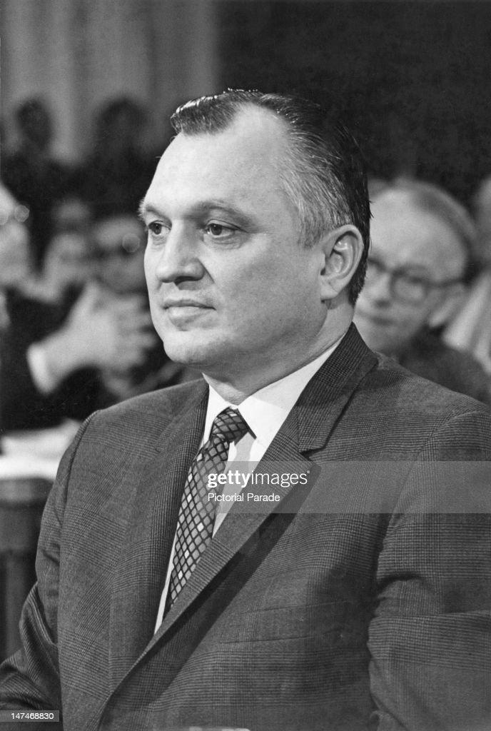American industrialist <b>Walter Joseph</b> Hickel (1919 - 2010), the Governor of ... - american-industrialist-walter-joseph-hickel-the-governor-of-alaska-picture-id147468830