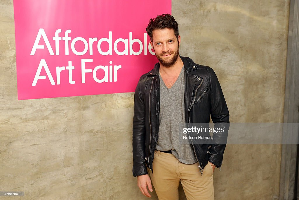 American interior designer Nate Berkus hosts the anniversary party celebrating the 15th Affordable Art Fair at Gilded Lily on March 5, 2014 in New York City.
