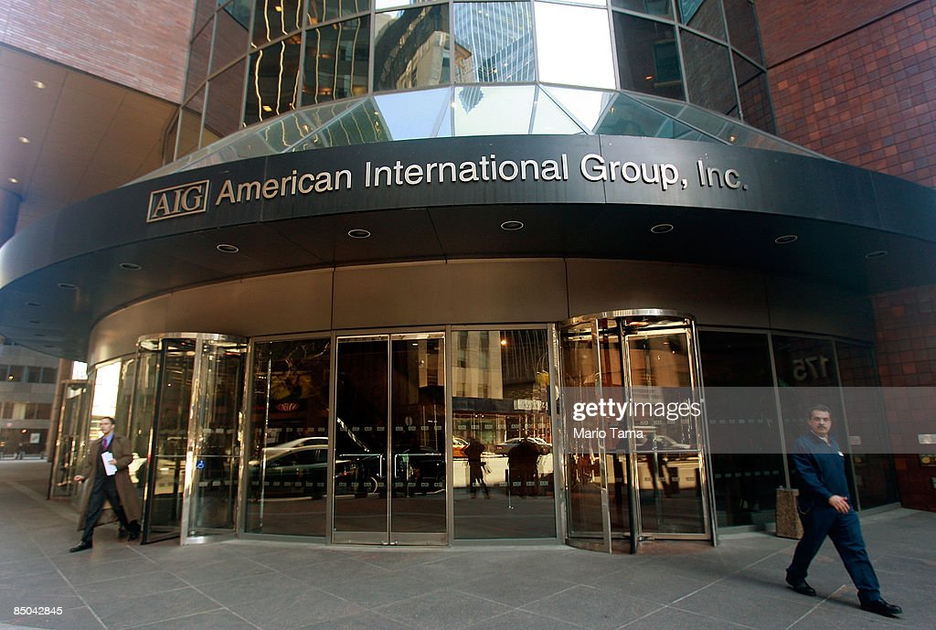 American International Group offices are seen February 24 2009 in New York City AIG wants more government aid and is preparing for a fourthquarter...