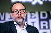 James Rollins and Jimmy Wales At The Wired Next Fest...