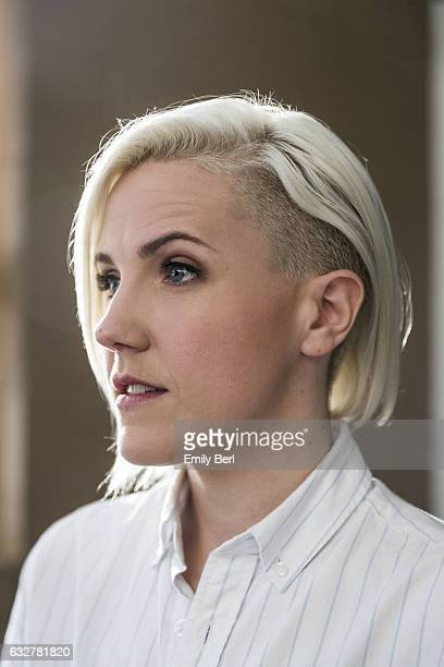 American internet personality comedian author and actress Hannah Hart is photographed for Buzzfeed on October 25 2016 in Los Angeles California