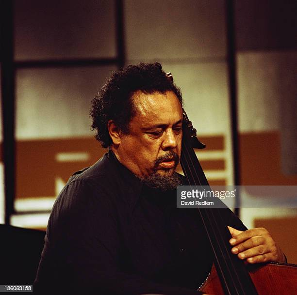 American jazz double bassist and composer Charles Mingus performing at the Montreux Jazz Festival Montreux Switzerland 20th July 1975