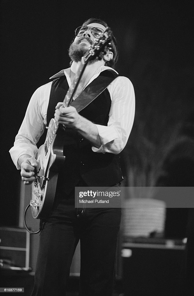 American jazz guitarist Al Di Meola performing on stage USA May 1978