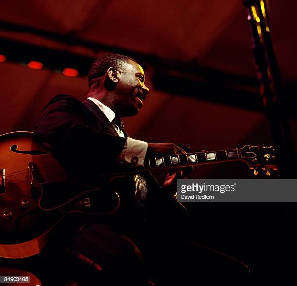 FESTIVAL Photo of Wes MONTGOMERY Wes Montgomery performing on stage