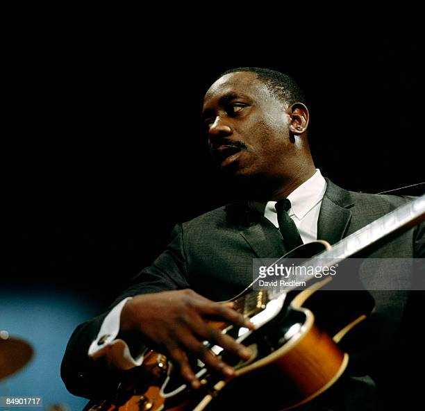 CENTRE Photo of Wes MONTGOMERY Wes Montgomery performing on tv show