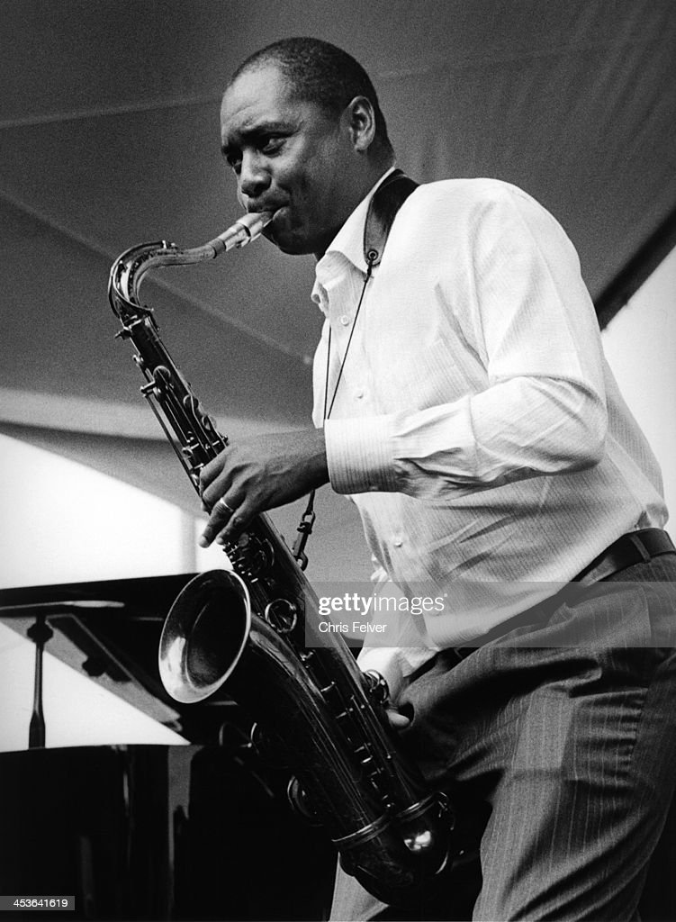 American jazz musician and composer Branford Marsalis performs on stage San Francisco California 2008