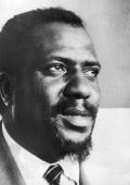 American jazz musician and composer Thelonious Monk a pianist who helped develop the 'bebop' genre of jazz
