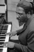 American jazz musician and composer Thelonious Monk during a recording session November 19 1968