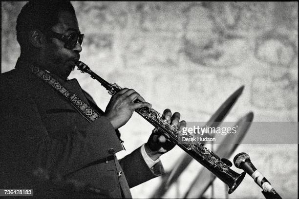 American jazz musician Archie Shepp at the Campagne Premiere jazz club in Montparnasse Paris in 1979