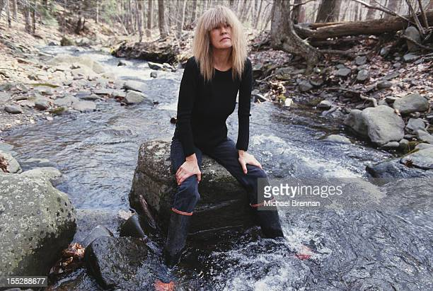 American jazz musician Carla Bley Woodstock New York February 1993