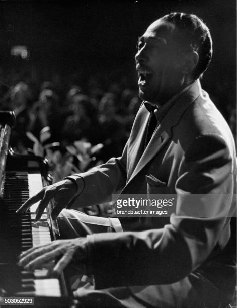 American Jazz musician Edward Kennedy Duke Ellington Photograph by Franz Hubmann