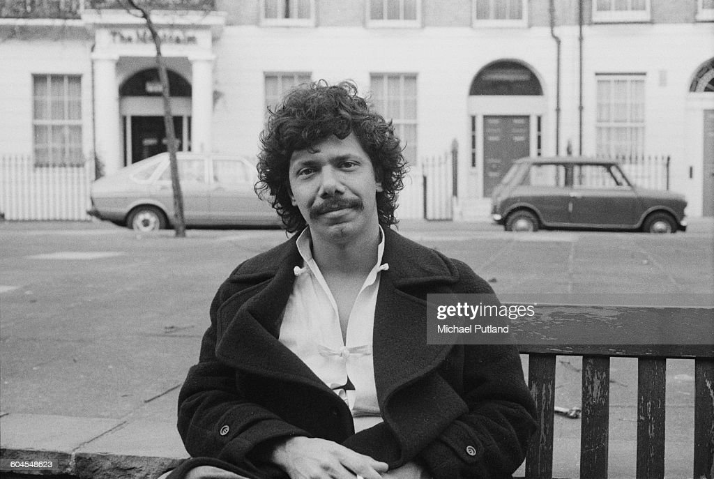 American jazz pianist Chick Corea, outside the Montcalm Hotel on Great Cumberland Place, London, 8th March 1976.