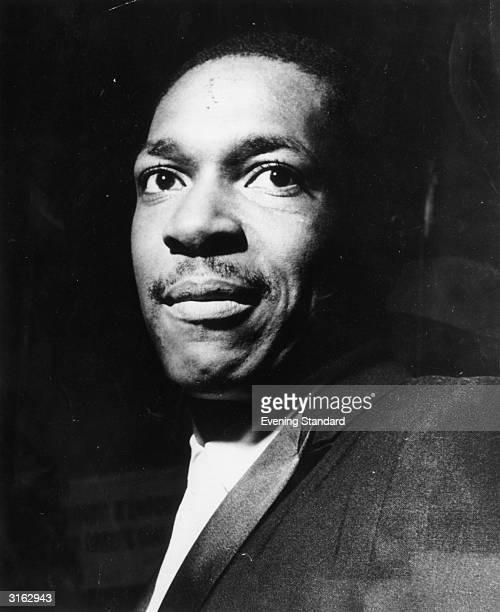 American jazz saxophonist and composer John Coltrane