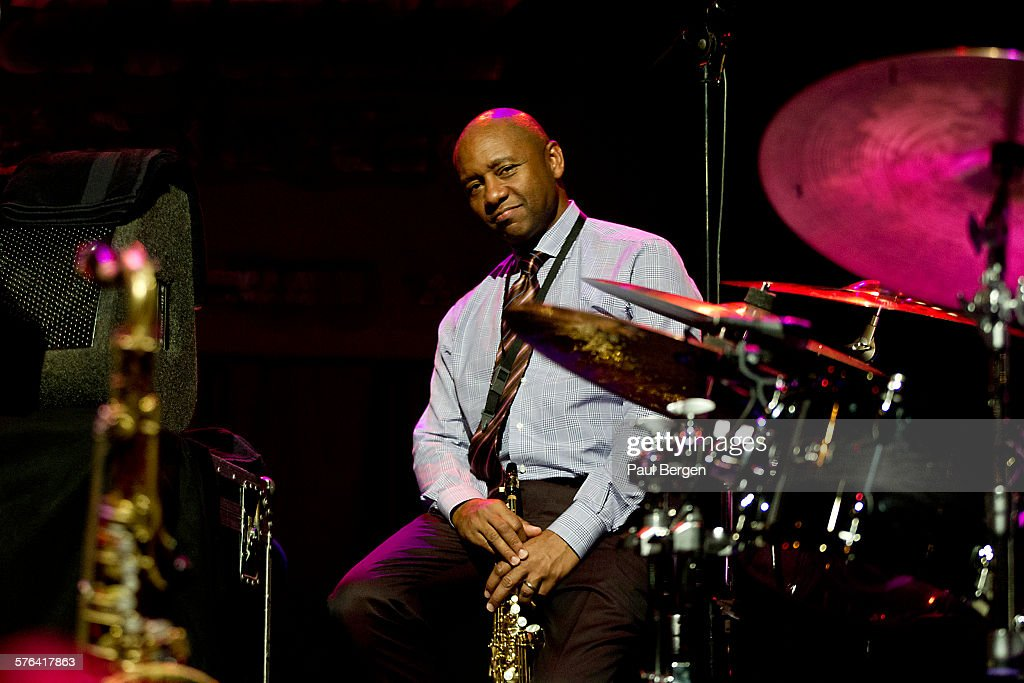 American jazz saxophonist Branford Marsalis performs on stage on North Sea Jazz Festival Ahoy Rotterdam Netherlands 12 July 2015