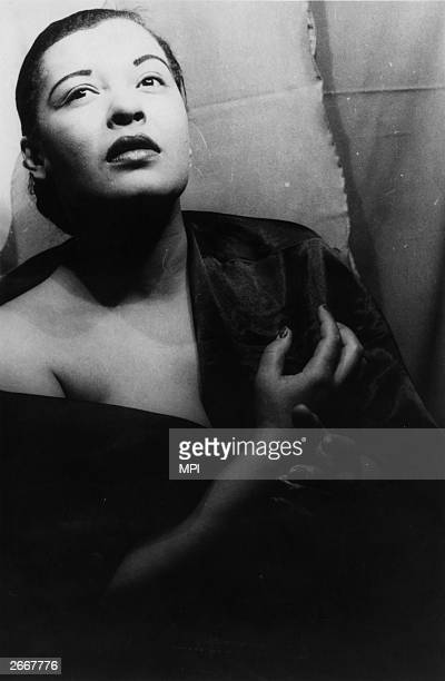 American jazz singer Billie Holiday also known as Lady Day Her recording of 'Strange Fruit' about a lynching was a cause celebre