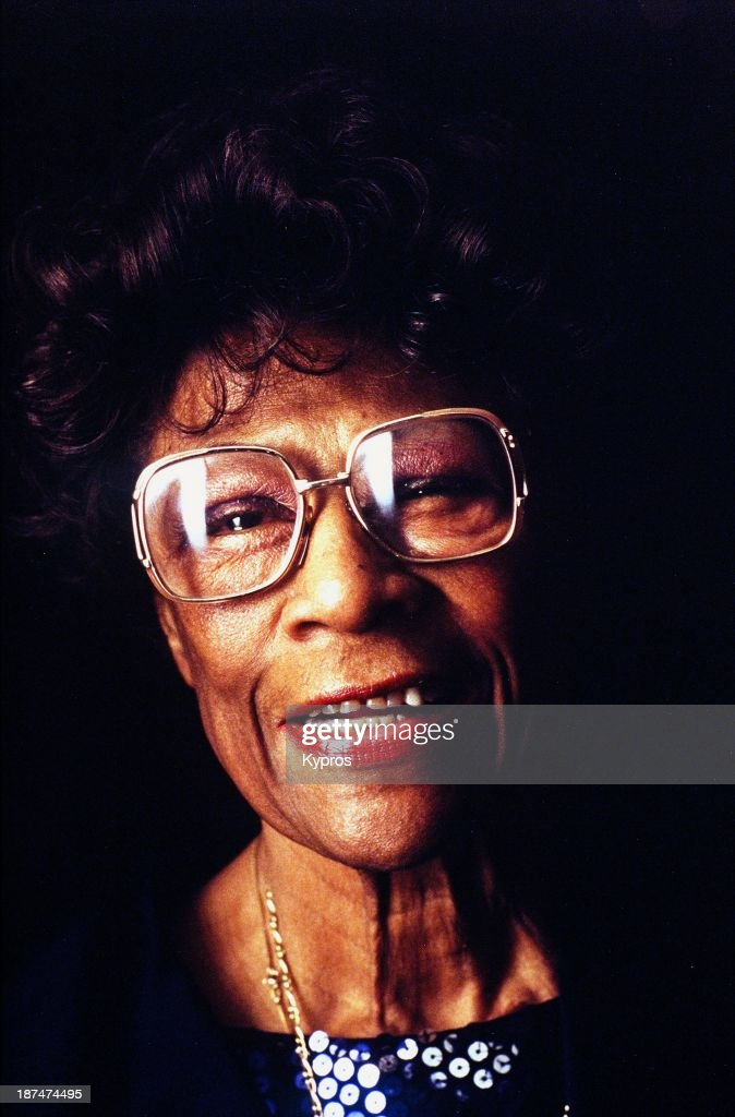 American jazz singer <a gi-track='captionPersonalityLinkClicked' href=/galleries/search?phrase=Ella+Fitzgerald&family=editorial&specificpeople=90780 ng-click='$event.stopPropagation()'>Ella Fitzgerald</a> (1917 - 1996), circa 1990.