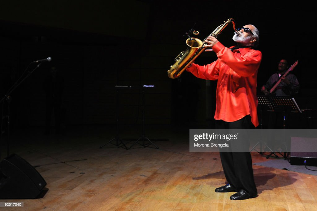 Sonny Rollins Performs In Milan
