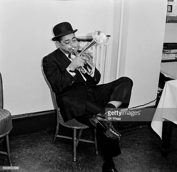 American jazz trumpeter and bandleader Dizzy Gillespie circa 1960