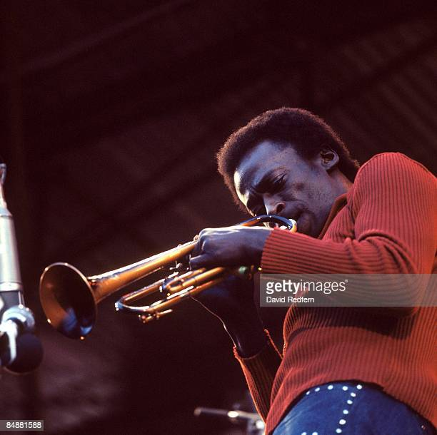 FESTIVAL Photo of Miles DAVIS performing live onstage