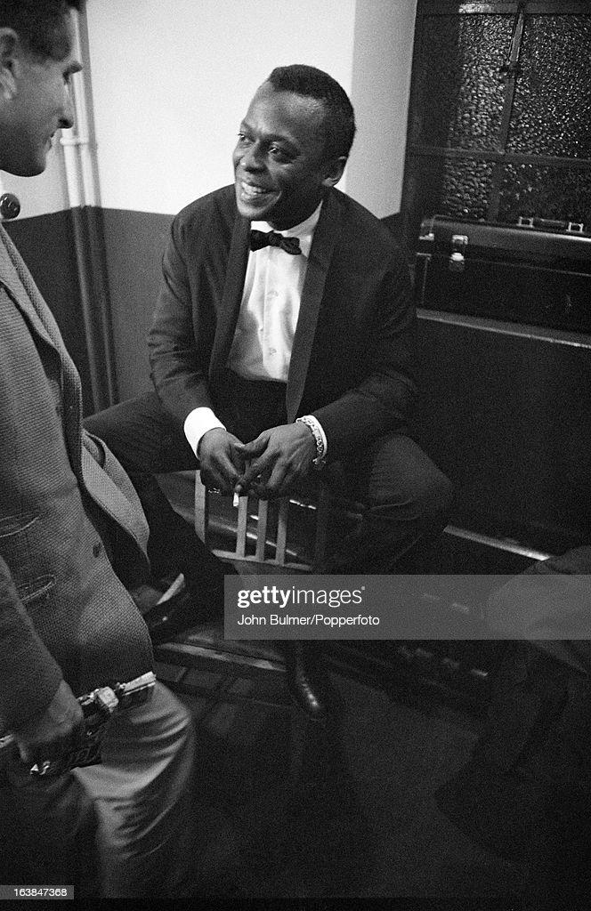 American jazz trumpeter Miles Davis (1926 - 1991), 1960.