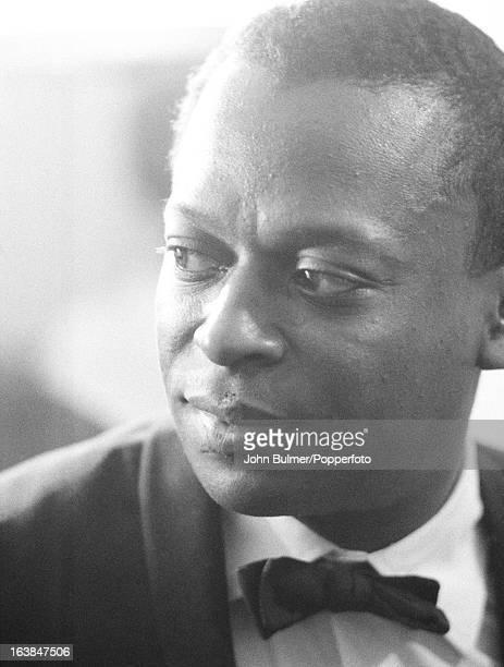 American jazz trumpeter Miles Davis 1960
