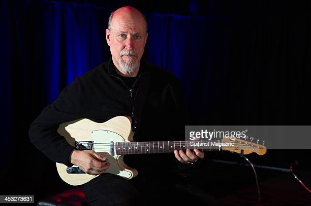 American jazzrock guitarist and composer John Scofield photographed during a portrait shoot or Guitarist Magazine March 2 2013
