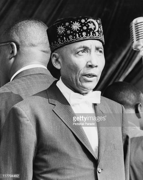 American leader of the Nation of Islam Elijah Muhammad circa 1965