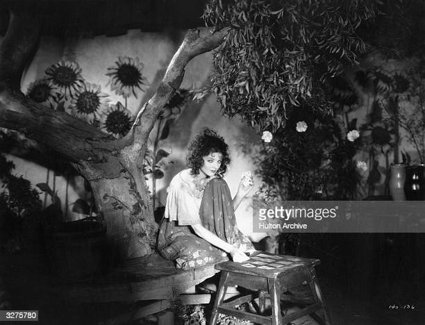 American leading lady Myrna Loy born Myrna Williams plays a temperamental gypsy in 'The Squall' Title The Squall Studio Warner Brothers Director...