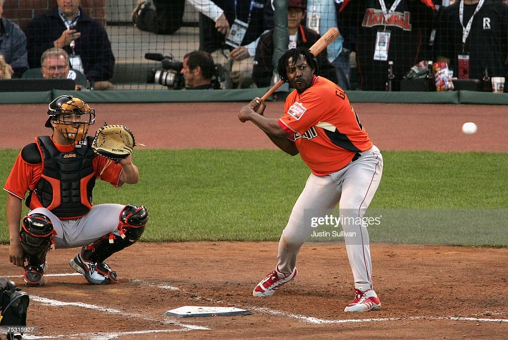 American League All Star Vladimir Guerrero 27 Of The Los Angeles Angels Anaheim