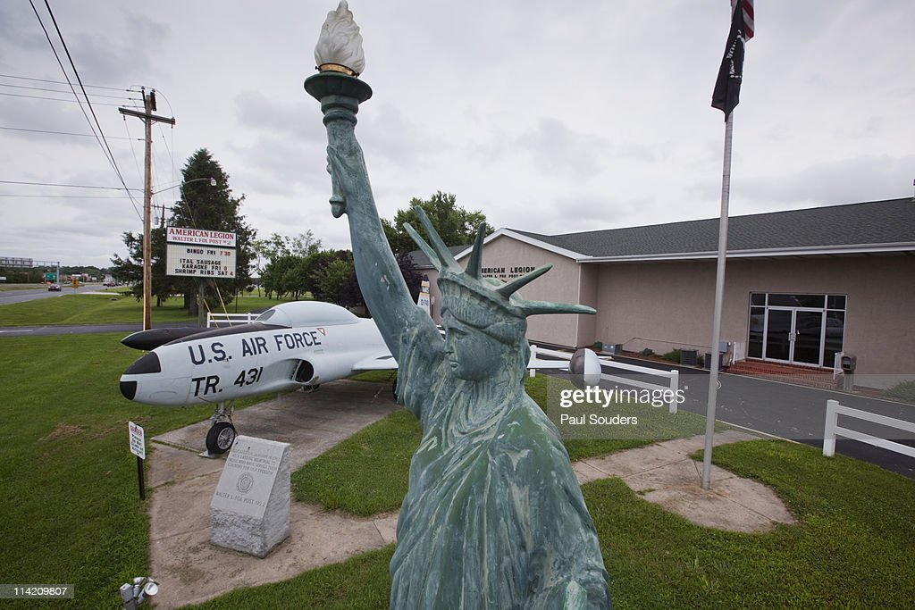 American Legion Post, Dover, Delaware : Stock Photo