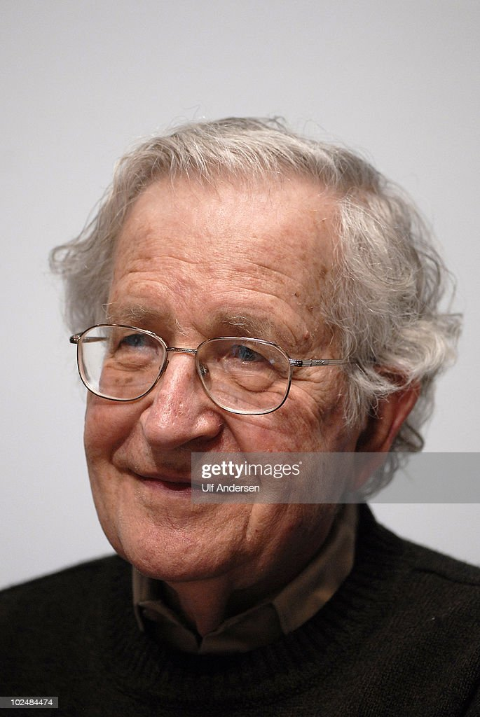 PARIS, FRANCE - MAY 30. American linguist and political activist Noam Chomsky during a press conference held on May 30, 2010 in Paris, France.
