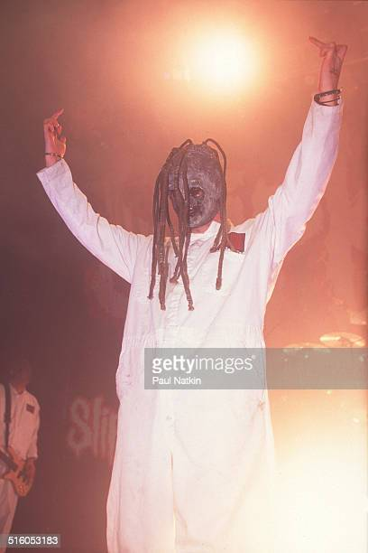 American metal band Slipknot performs at the Congress Theater Chicago Illinois November 16 2000