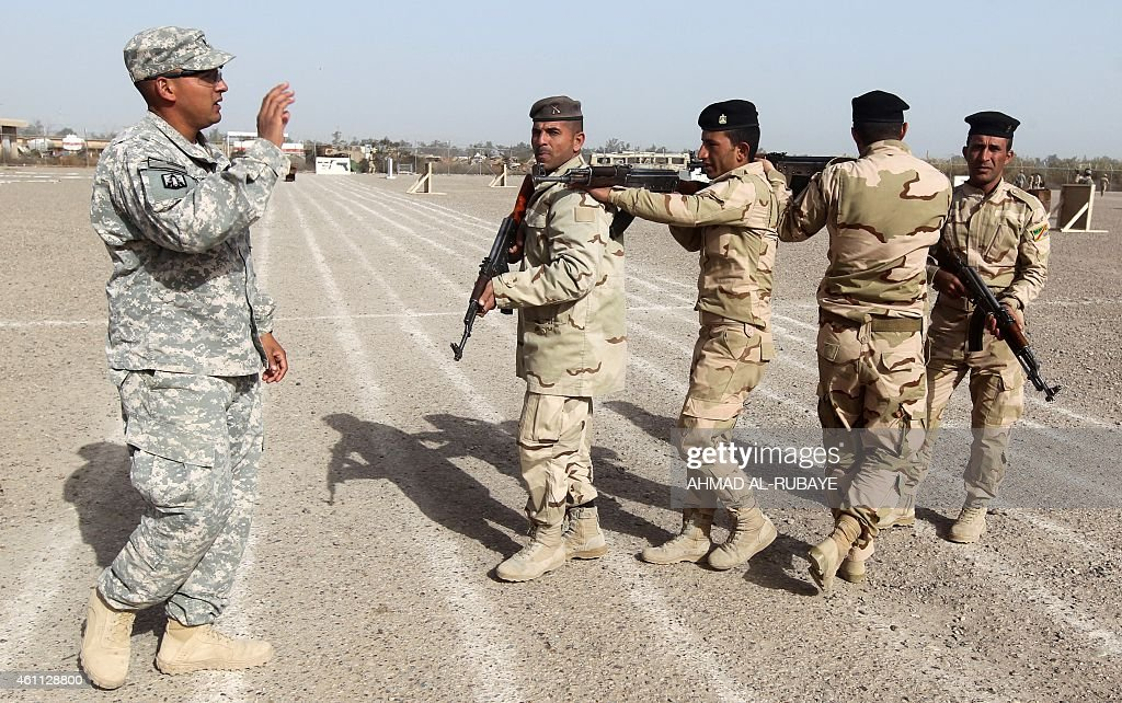 Write american soldiers in iraq